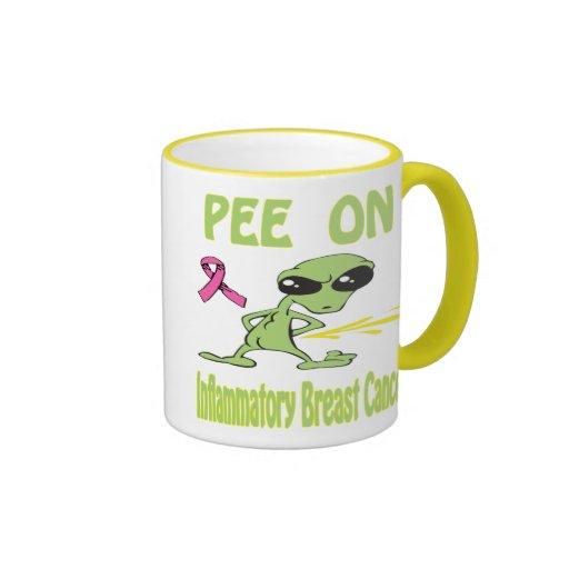 Pis en la taza inflamatoria del cáncer de pecho