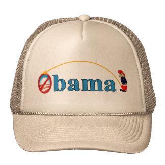 Pis en Obama Gorra