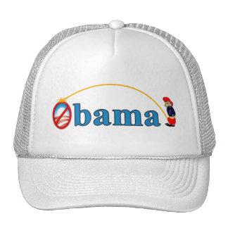 Pis en Obama Gorras De Camionero