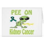 Pis en tarjeta del cáncer del riñón