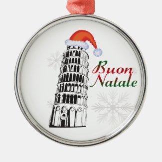 Pisa Buon Natale Ornament