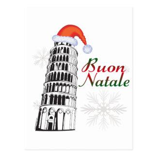Pisa Buon Natale Postcard