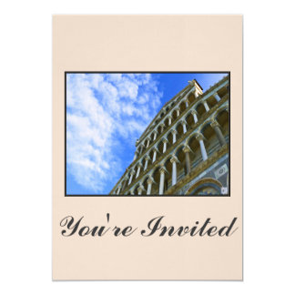 Pisa Cathedral with Love Quote Card