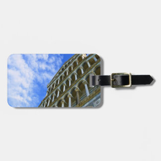 Pisa Cathedral with Love Quote Luggage Tag