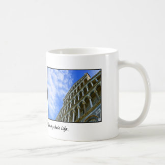 Pisa Cathedral with Love Quote Classic White Coffee Mug