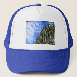 Pisa Cathedral with Love Quote Trucker Hat