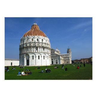 Pisa Complex Photo Print
