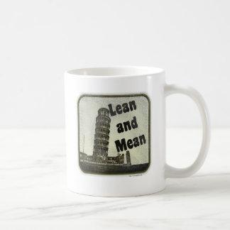 Pisa is Lean and Mean Coffee Mug