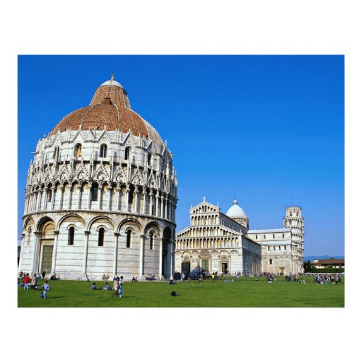 Pisa, Italia Tarjetón