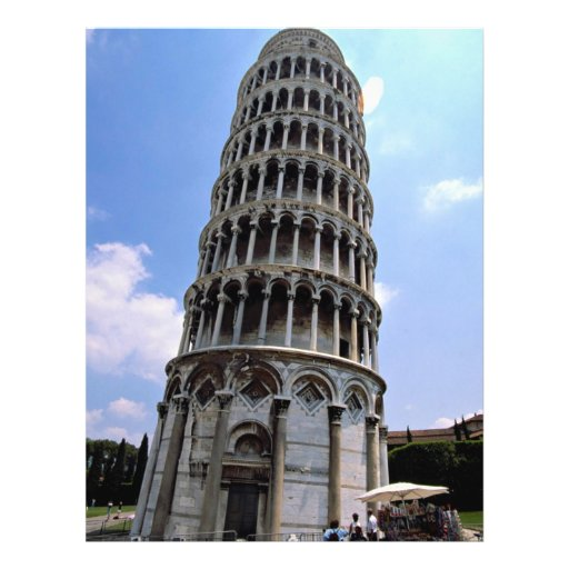 Pisa, Italia Flyer A Todo Color