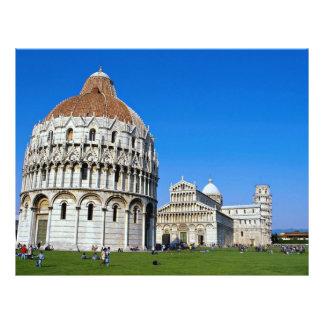 "Pisa, Italia Folleto 8.5"" X 11"""