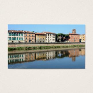 Pisa, Italy 2015 pocket calendar Business Card