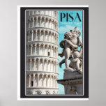 Pisa - la torre inclinada impresiones