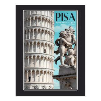 Pisa - la torre inclinada postal