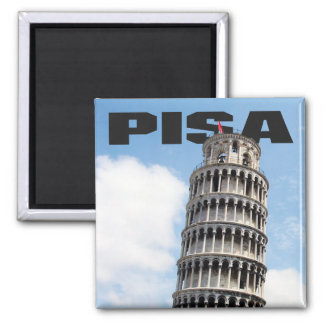 Pisa Learning Tower Fridge Magnet