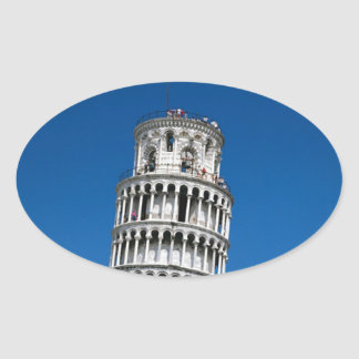 PISA OVAL STICKER