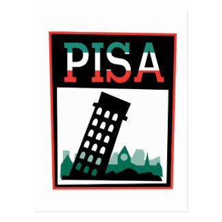 Pisa Poster Postcard
