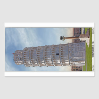 Pisa - The Leaning Tower Sticker