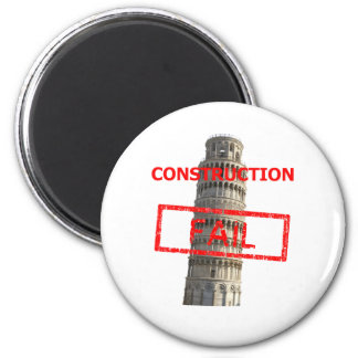 Pisa tower construction fail magnet