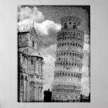 Pisa Tower Print