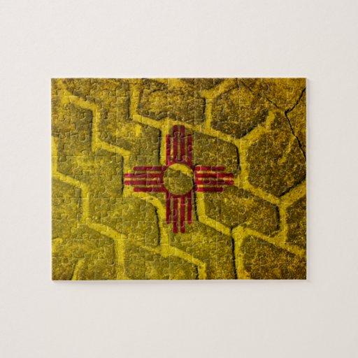 Pisada de la bandera de New México Puzzles