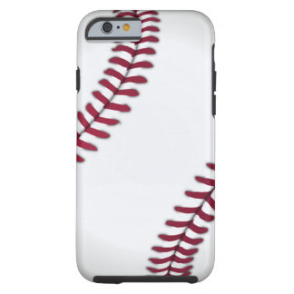 Pisada del béisbol funda para iPhone 6 tough