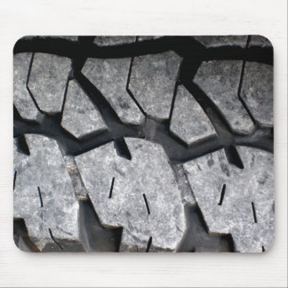 Pisada del neumático tapetes de raton