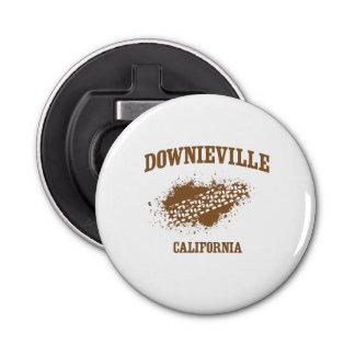 Pisadas de Downieville California Abrebotellas Redondo