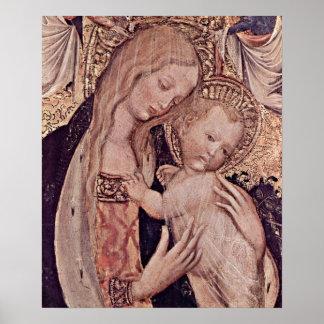 Pisanello - Madonna Poster