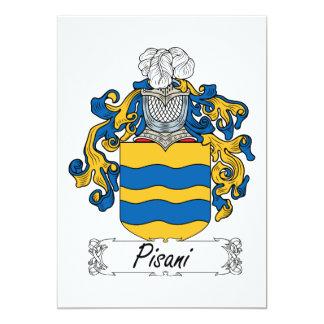 Pisani Family Crest Card