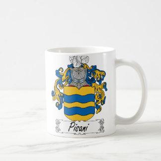 Pisani Family Crest Coffee Mug