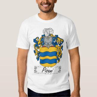 Pisani Family Crest T-shirt