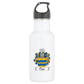 Pisani Family Crest Water Bottle