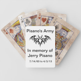 Pisano's Army playing cards