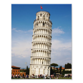 Pisa's Leaning Tower Photo Print