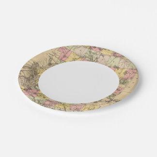 Piscataquis Co, Maine Paper Plate