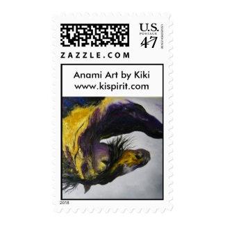 Piscean Eclipse/Anami Art by Kik/iwww.kispirit.com Postage