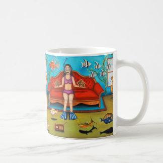Pisces #3 classic white coffee mug