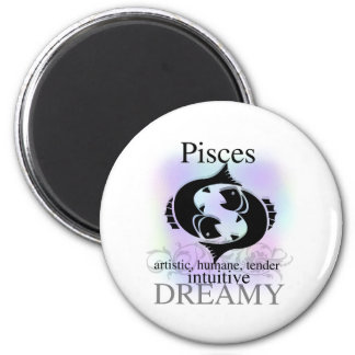 Pisces About You 2 Inch Round Magnet