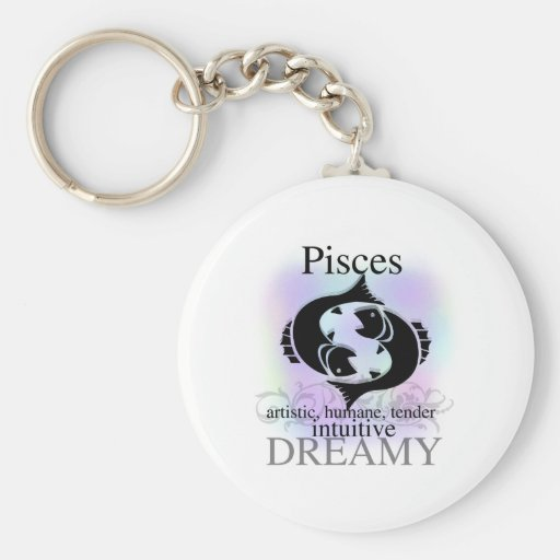 Pisces About You Keychain