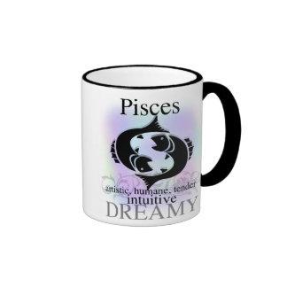 Pisces About You Ringer Mug