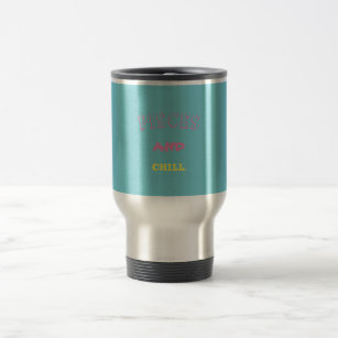 Pisces And Chill mug