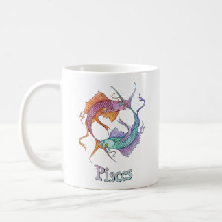 Pisces and Water Coffee Mug