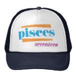 Pisces Aqua Trucker Hat