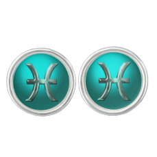 Pisces Astrological Sign Cufflinks