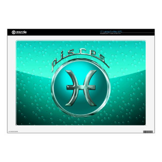 Pisces Astrological Sign Decals For Laptops