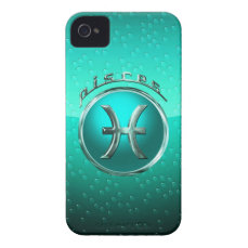 Pisces Astrological Sign iPhone 4 Cover