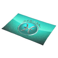 Pisces Astrological Sign Placemat