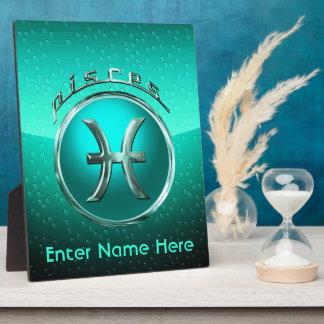 Pisces Astrological Sign Plaque