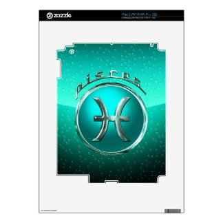 Pisces Astrological Sign Skin For The iPad 2